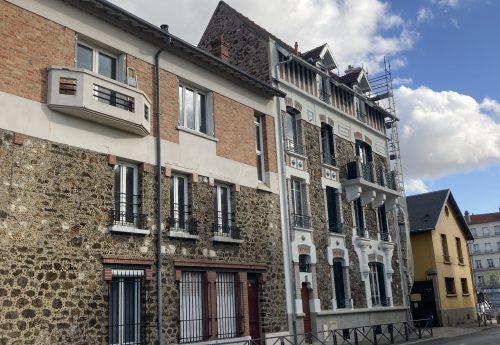 Restauration bâtiment patrimonial à Ivry-sur-Seine (93)
