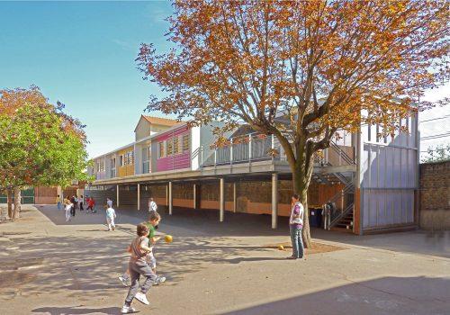 Ecole primaire Léon Bourgeois à Colombes (92)