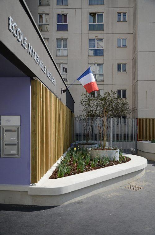 Ecole maternelle Jules Vernes à Courbevoie  (92)