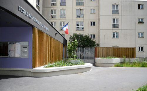 Ecole maternelle Jules Verne à Courbevoie  (92)