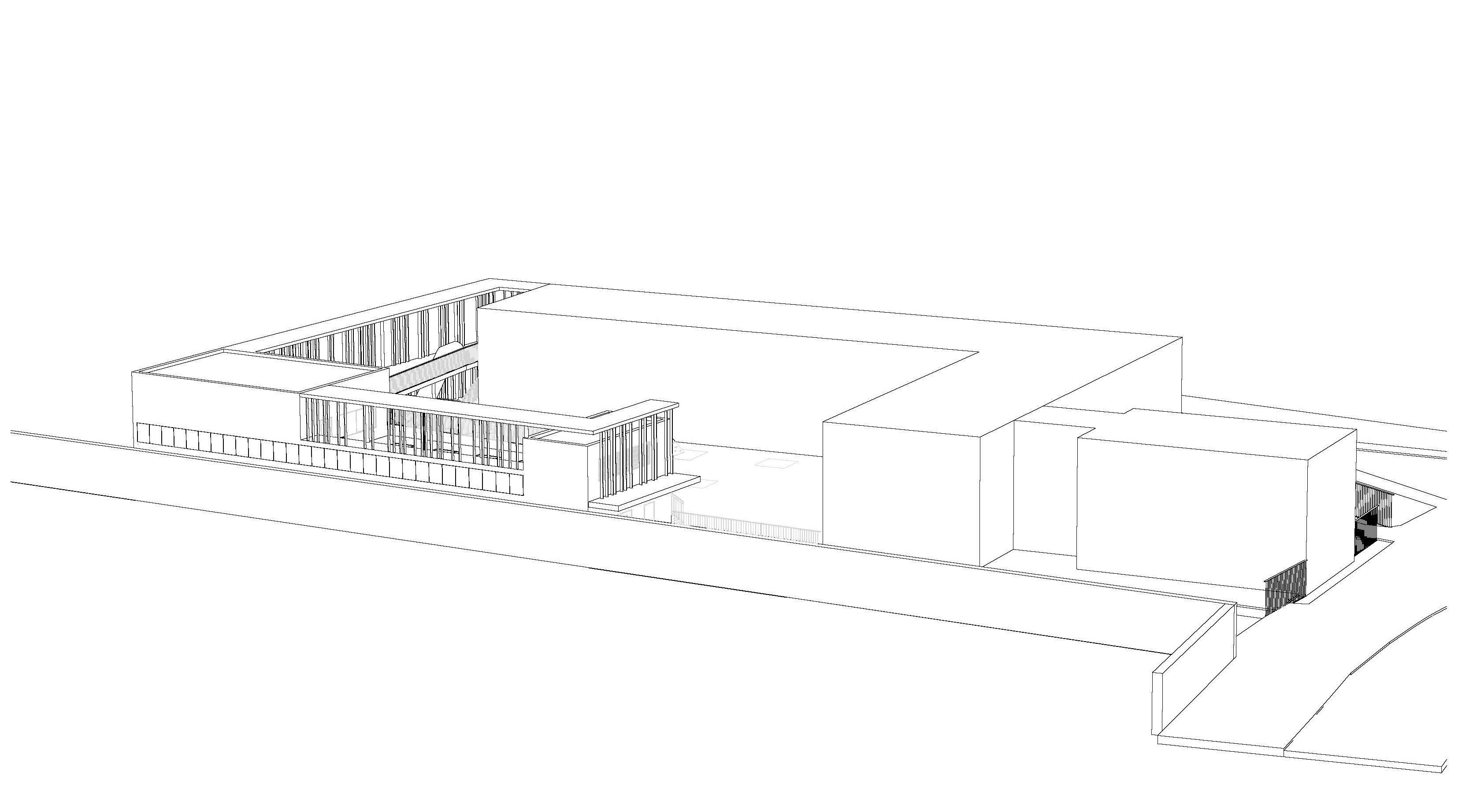 D_00_PANTIN_AXONO DWG_facade cimetiere